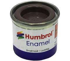 Humbrol Enamel NO1 Matt Brick Red 70