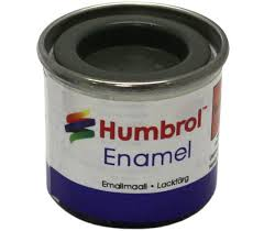 Humbrol Enamel NO1 Matt Army Green 102