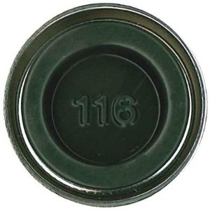 Humbrol Enamel NO1 Matt Dark Green 116