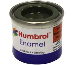 Humbrol Enamel Matt Forest green 150
