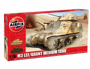 Airfix Fordon Lee Grant Tank 1:76