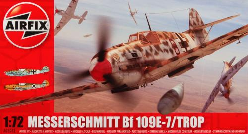 Flyg Messerschmitt BF 109E-7/Trop 1:72