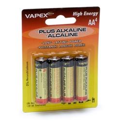 Plus Alkaline batteri AA 4st