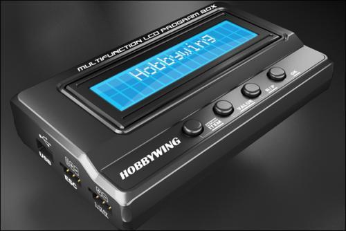Hobbywing Multifunction LCD Program Box (30502001)