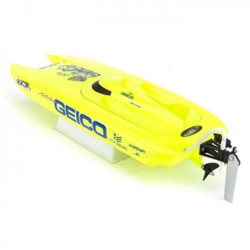Proboat Miss Geico 17-inch Catamaran Brushed: RTR INT