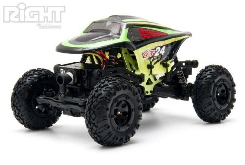 Right 1/24 Mini-Crawler Elbil 2.4G RTR