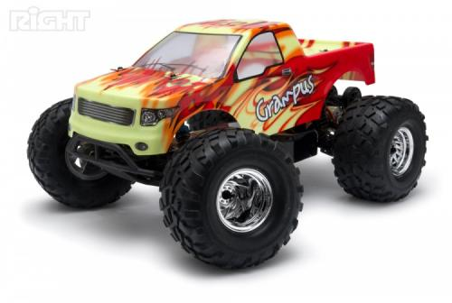Right GRAMPUS 2WD Monster Truck RTR