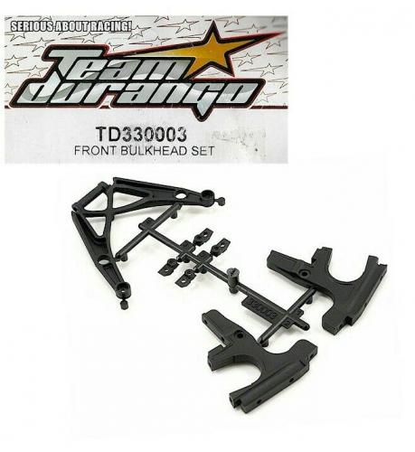 Team Durango Dex410 Front Bulkhead Set