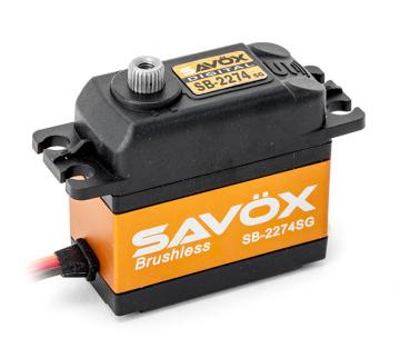 Savox Servo SB-2274SG Brushless 7.4V std.size 0.08 speed/25kg. S