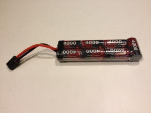 Enrich Power 4000mah 8.4V Rak, Traxxas kontakt