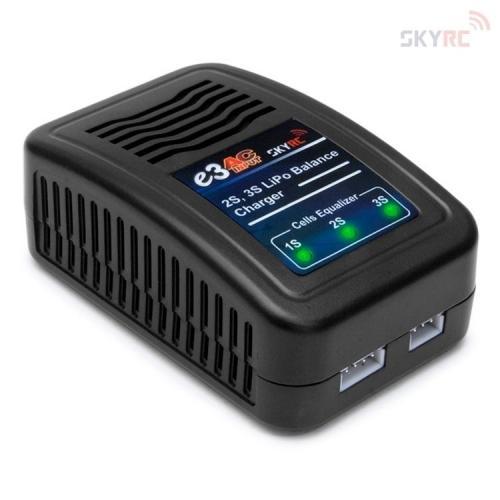 SkyRC e3-V2 2-3S LiPo Laddare 240VAC (SK100081)