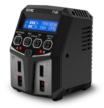 SkyRC T100 Laddare 240VAC 0.1-5A 2x50W