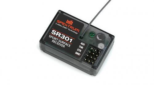 SR301 3Channel DSM Sport Surface Rx