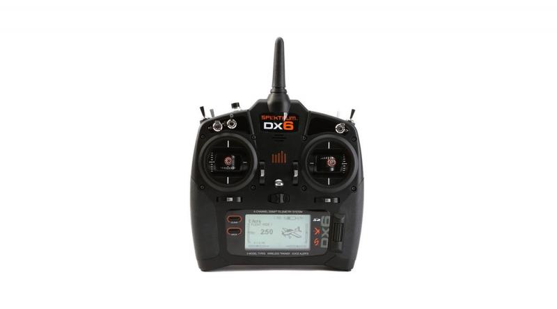 Spektrum DX6 6-Channel DSMX Transmitter Gen 3 with AR6600T Receiver EU Version
