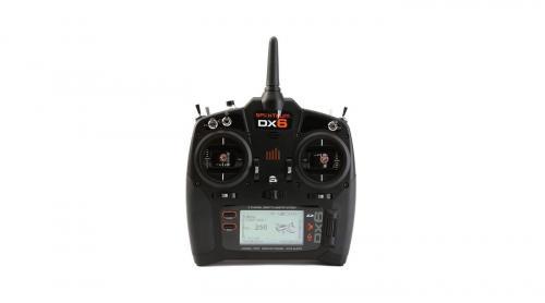 Spektrum DX6 6-Channel DSMX Transmitter Gen 3 with AR6600T Receiver EU Version