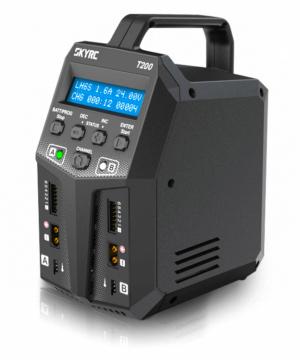 SkyRC T200 Laddare 240VAC/12VDC 12A 2x100W
