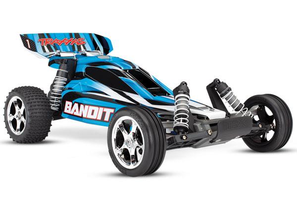 Bandit 2WD 1/10 RTR TQ Blå - Med Batt/Laddare