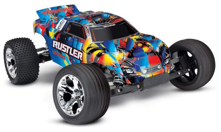 Traxxas Rustler 2WD 1/10 RTR TQ