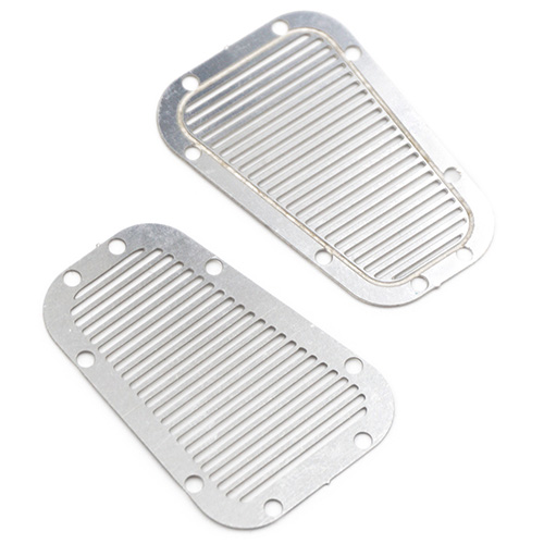 Yeah Racing Stainless steel front hood vent plate for Traxxas TRX-4