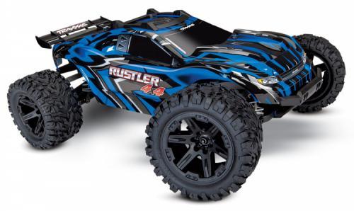 Traxxas Rustler 4x4 XL-5 1/10 Stadium Truck med Batteri & Laddare