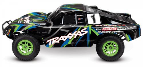 Traxxas Slash 4x4 XL-5 1/10 RTR TQ Grön Special Edition