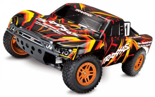 TRAXXAS SLASH 4X4 XL-5 1/10 RTR TQ ORANGE SPECIAL EDITION