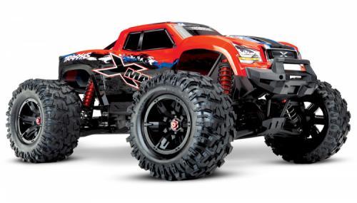 Traxxas X-Maxx 8S 4WD Brushless TQi TSM Röd-X