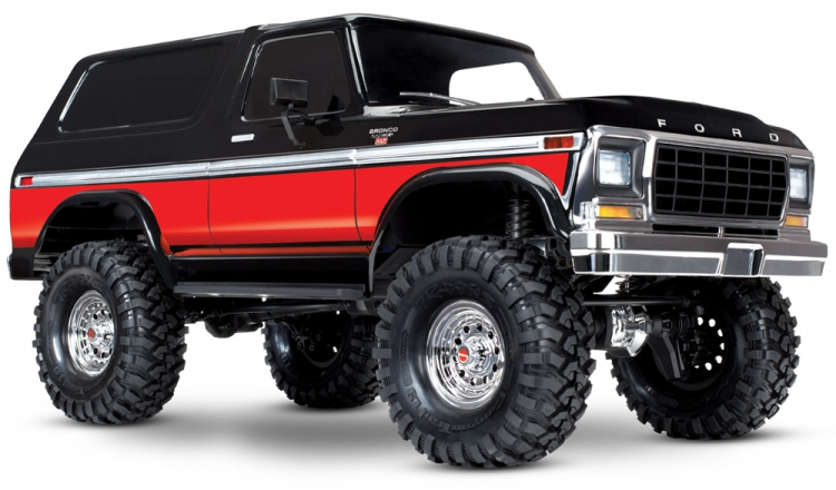 Traxxas TRX-4 Ford Bronco Ranger XLT Scale & Trail Crawler RTR SUNSET