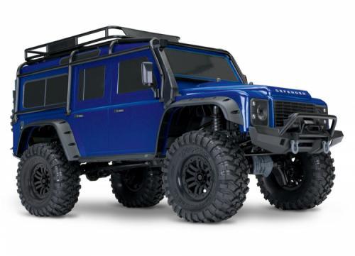 Traxxas TRX-4 Scale & Trial Crawler Land Rover Defender Blå RTR