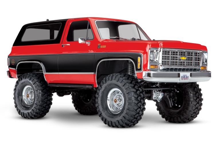 Traxxas TRX-4 Chevy Blazer 1/10 Röd RTR