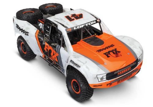 TRAXXAS UNLIMITED DESERT RACER 4WD TQI TSM Lipo Edition