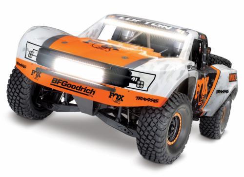TRaxxas UDR 4WD TQi TSM FOX LED-set utan laddare & batteri RTR