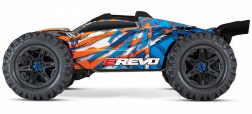 TRAXXAS E-REVO 2.0 BRUSHLESS 4WD TQI TSM Lipo Edition