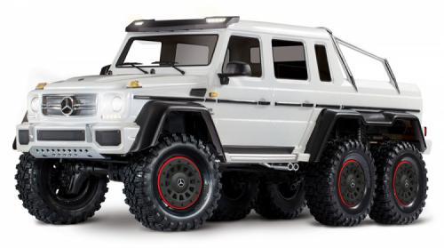 Traxxas TRX-6 Mercedes-Benz G63 AMG 6X6 TQi 2.4G RTR Vit