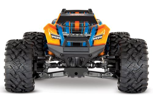 Traxxas Maxx 4x4 1/10 RTR TQi Borstlös TSM Orange Lipo Edition