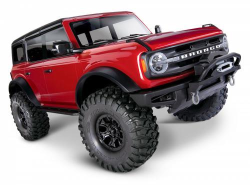 Traxxas TRX-4 Ford Bronco 2021 Crawler RTR Röd