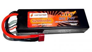 Vant Battery 7.4V 5200mah 50C Roar Approved
