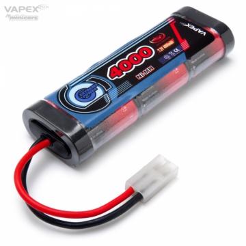NiMH Batteri 7,2V 4000mAh Tamiya-kontakt