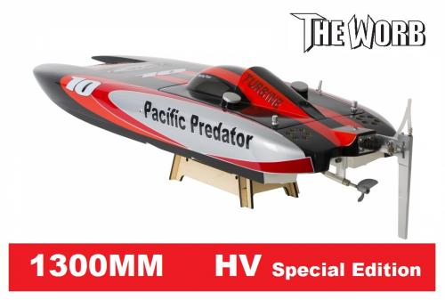 WORB Pacific Predator Brushless HV Special Edition 1300mm