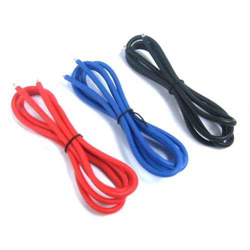 Yeah Racing 12AWG Silver silicone Wire set