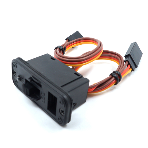Yeah Racing RC on/off switch w/led Futaba connector