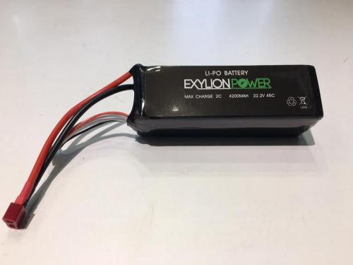 Exylion Power 22.2V 4200mah 45C Deans