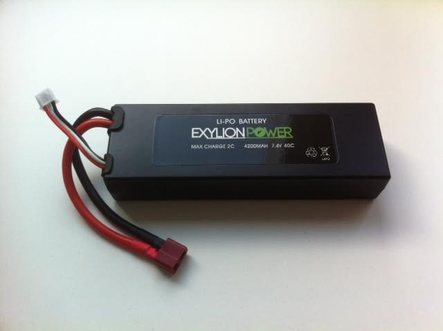 Exylion Power 7.4V 4200mah 40C Deans