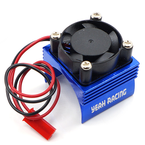 Yeah Racing 380 motor sink with cooling fan