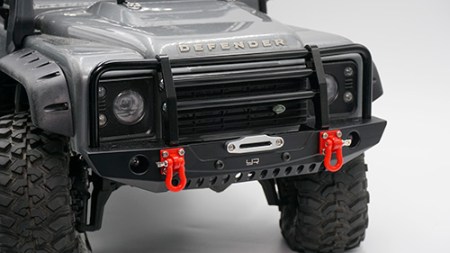 TRX Aluminium Front bumper w/Led light for TRX-4