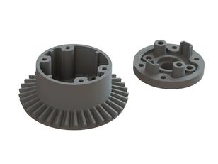 ARRMA Diff Case Set 37T Main Gear 4x4 BLX 3S