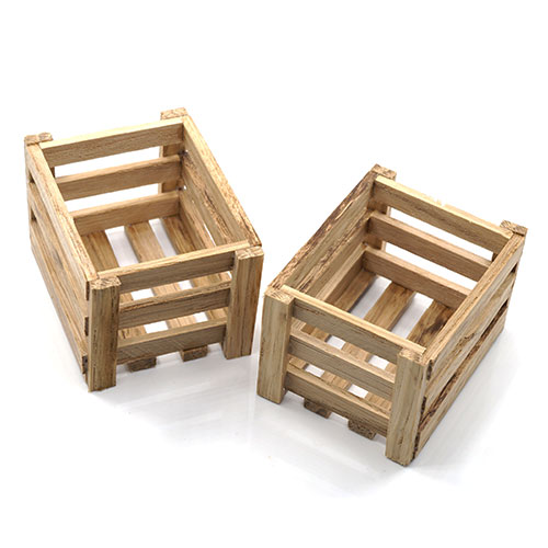Yeah Racing 1/10 RC Crawler Accessory Wooden Crate