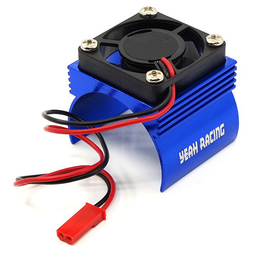 Yeah Racing Aluminium 540 motor heat sink w/cooling fan