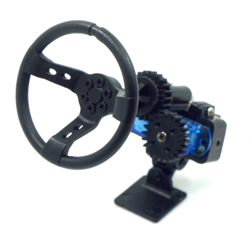 Yeah Racing X DarkDragonWing Motion Steering Wheel For 1:10 Touring Drift Crawler RC Car
