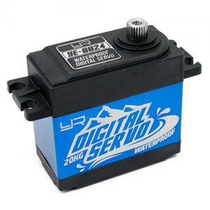 Yeah Racing 20kg Waterproof Super Torque digital servo blue
